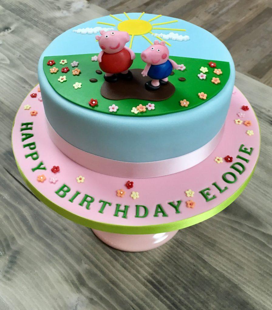 Geburtstagstorte Peppa Pig